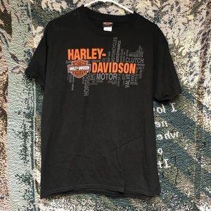 Harley Davidson Motor Cycle Tee